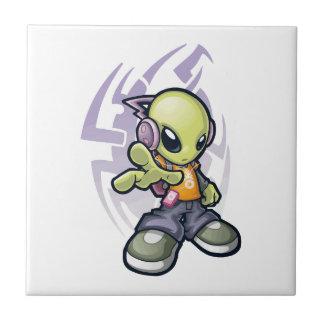 bumping Alien Tile
