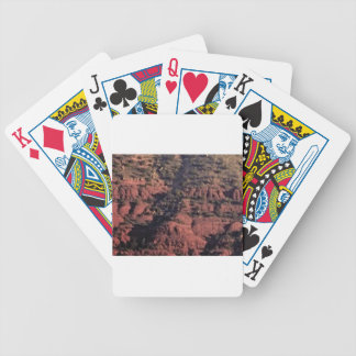 bumps and lumps in red rock bicycle playing cards
