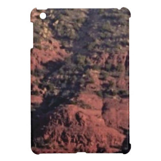 bumps and lumps in red rock iPad mini cover