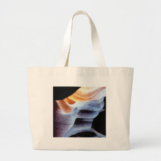 Bumps and lumps in the rocks large tote bag