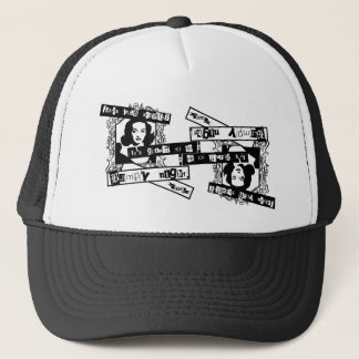 bumpy night. trucker hat