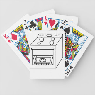 bun in the oven, funny baby in mother pregnant mom bicycle playing cards