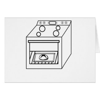 bun in the oven, funny baby in mother pregnant mom card
