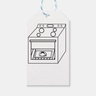 bun in the oven, funny baby in mother pregnant mom gift tags