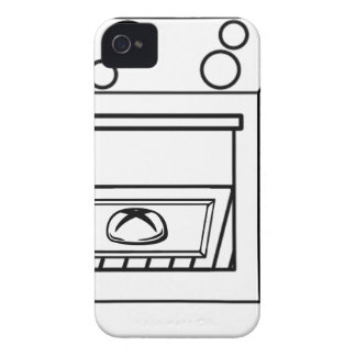 bun in the oven, funny baby in mother pregnant mom iPhone 4 Case-Mate case