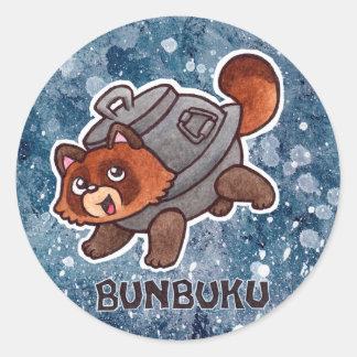 Bunbuku Sticker