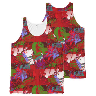 Bunch All-Over-Print Tank Top
