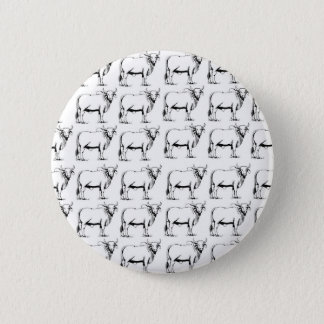 bunch of bad bulls 2 inch round button