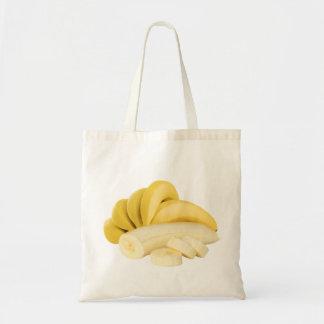 Bunch of bananas budget tote bag