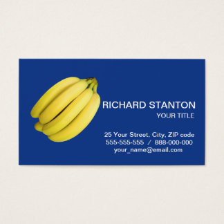 Bunch of bananas business card