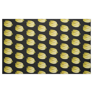 Bunch of bananas fabric
