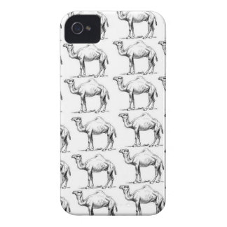 bunch of camels herd iPhone 4 Case-Mate case