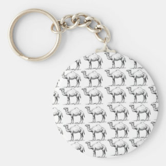 bunch of camels herd keychain