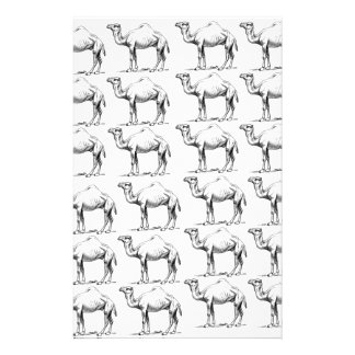 bunch of camels herd stationery