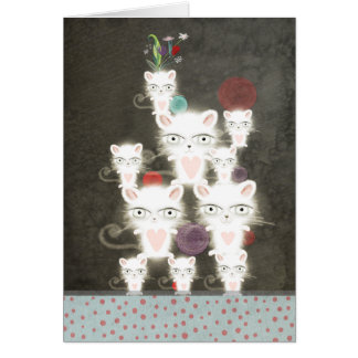Bunch of cats card funny Sympathy lovely greetings