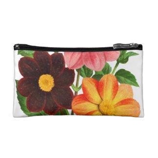 Bunch Of Dahlias Cosmetic Bag