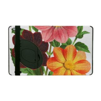 Bunch Of Dahlias iPad Case