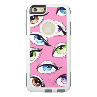 Bunch Of Eyes Pink OtterBox iPhone 6/6s Plus Case