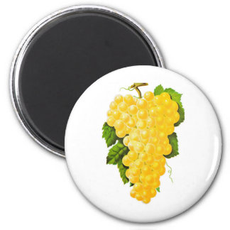 Bunch of Grapes 2 Inch Round Magnet