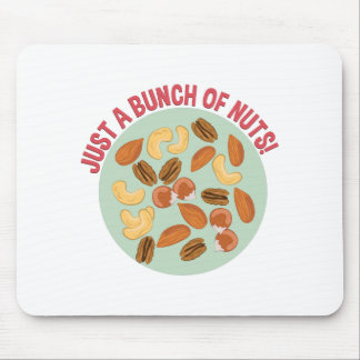 Bunch Of Nuts Mouse Pad