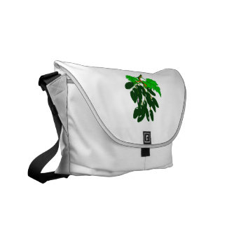Bunch of peppers green messenger bags