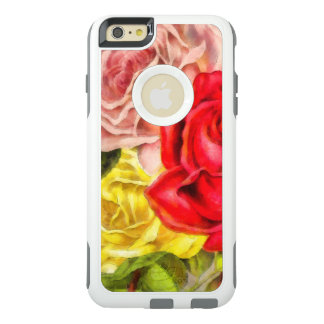 Bunch Of Roses Watercolor OtterBox iPhone 6/6s Plus Case