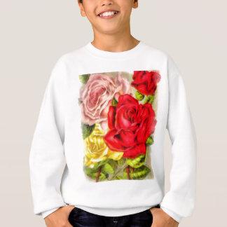 Bunch Of Roses Watercolor Sweatshirt