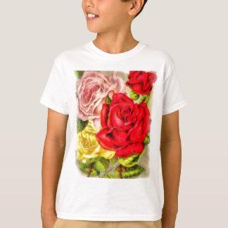 Bunch Of Roses Watercolor T-Shirt