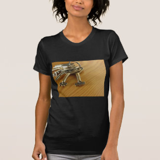 Bunch of worn house keys on wooden table T-Shirt