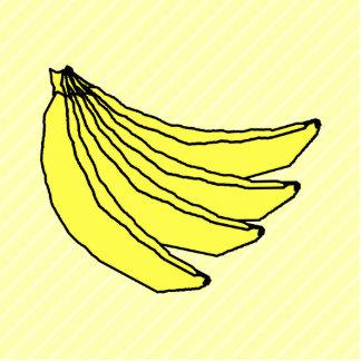 Bunch of Yellow Bananas Photo Cutout