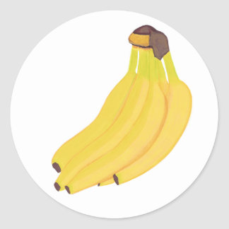 Bunch of Yellow Bananas Stickers
