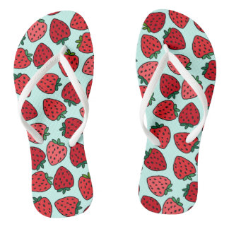 Bunches of Strawberries - Flip Flops