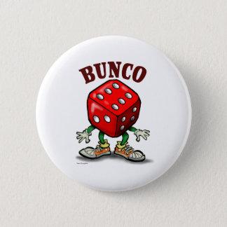 Bunco 2 Inch Round Button