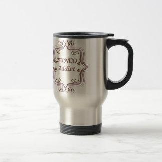 Bunco Addict 15 Oz Stainless Steel Travel Mug