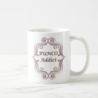 Bunco Addict Classic White Coffee Mug