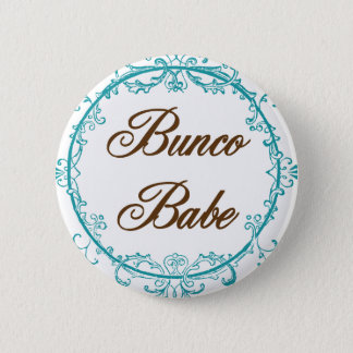 bunco babe 2 inch round button