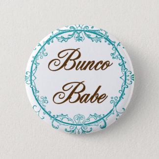 bunco babe 2 inch round button