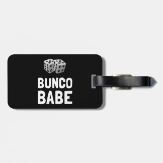 Bunco Babe Dice Luggage Tag