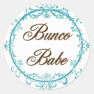 Bunco Babe Stickers
