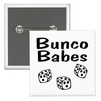 Bunco Babes Pinback Buttons