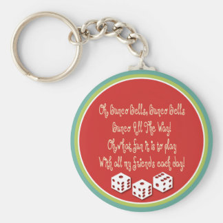 bunco bells, bunco bells keychain