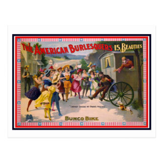 Bunco Bike Postcard