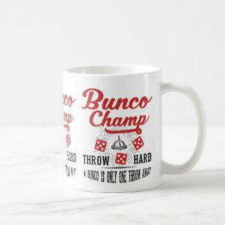 Bunco Champ Coffee Mug
