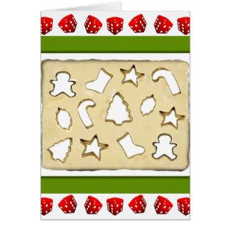 bunco Christmas Card