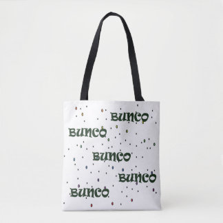 Bunco Confetti Tote Bag