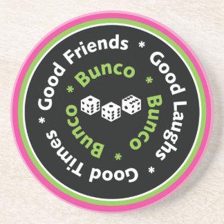 bunco good friends coaster