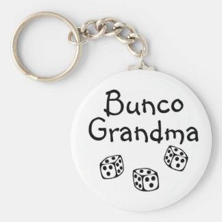 Bunco Grandma Basic Round Button Keychain