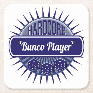 Bunco Party Coaster - Bunco Dice Player