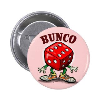 Bunco Pinback Buttons