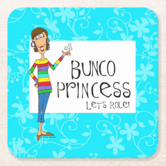 Bunco Princess Coasters